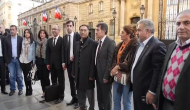 Fransa Cumhurbaşkanı Alevi Birlikleri Federasyonunu kabul etti