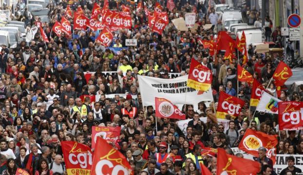 Fransada grev ikinci gününde üniversitelere sıçradı