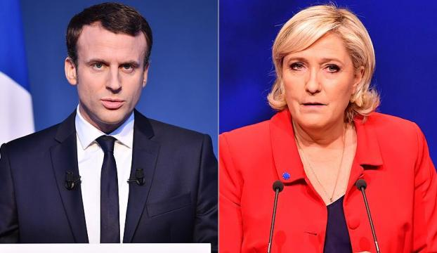 Fransada cumhurbaşkanı seçimi ikinci turunda Macronun şansı yüksek