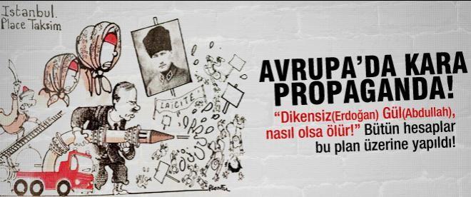 Batı basınında kara Erdoğan propagandası
