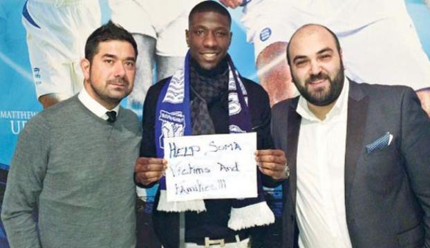 Fransız futbolcudan Somaya büyük yardım