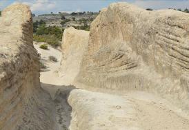 """Frigya'daki """"Antik Yol""""un gizemli izleri jeolog ve arkeologların dikkatini çekiyor"""