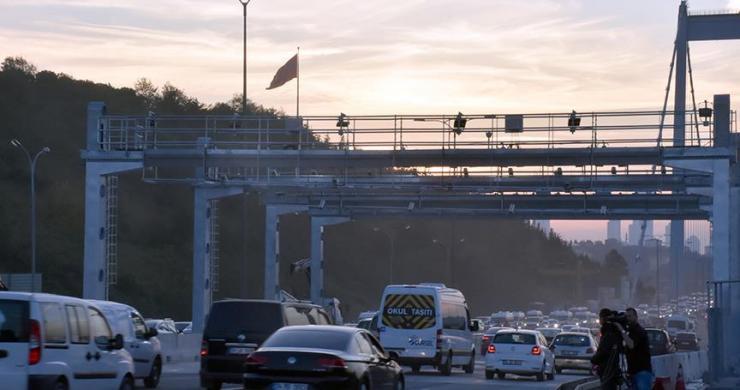 FSM Köprüsü'nde çalışmalar tamamlandı, şeritler kaldırıldı