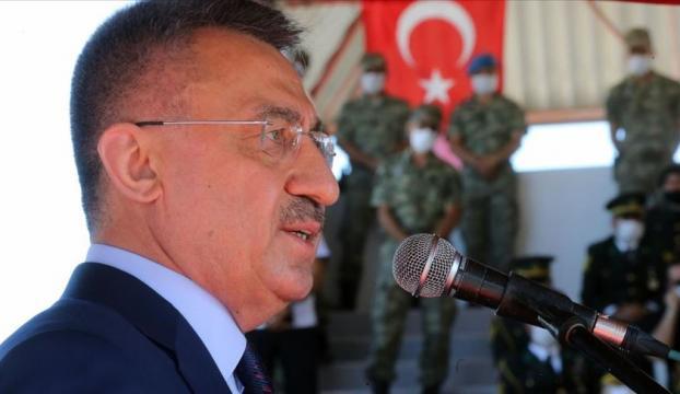 Cumhurbaşkanı Yardımcısı Oktay: Rum-Yunan ikilisinin bölgeyi kendi çıkarları çizgisinde şekillendirme çabaları beyhude