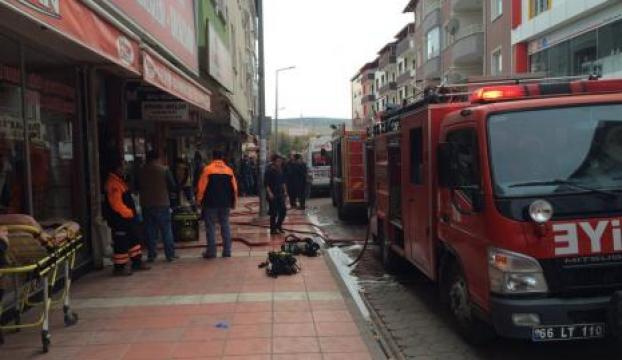 Fueloil kazanı sökümünde yangın: 1 öldü