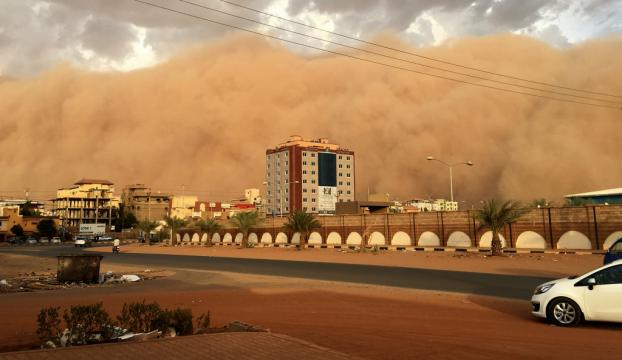 Sudanda kum fırtınası