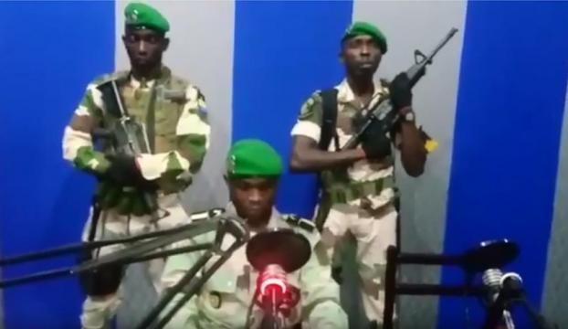 Gabonda darbe girişimi