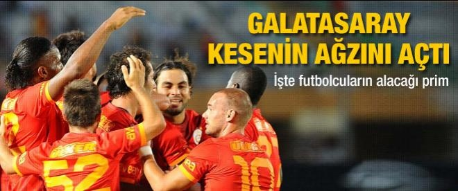 Galatasaray'a dev prim!