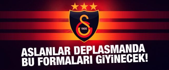 İşte Galatasaray'ın deplasman formaları