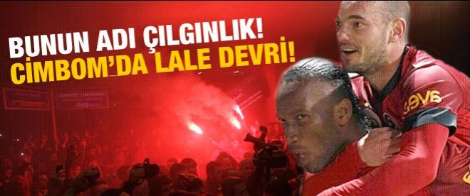 Drogba ve Sneijder Aslan'ı uçurdu