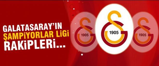 Galatasaray'ın rakipleri...