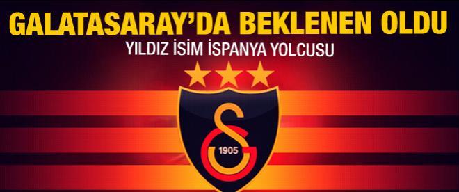 Galatasaray'da beklenen oldu