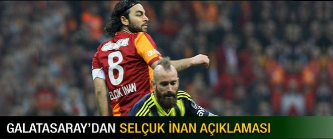 Galatasaray'dan Selçuk İnan açıklaması!