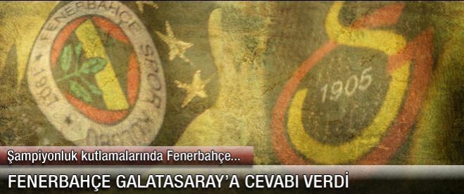 Fenerbahçe'den Galatasaray'ın davetine yanıt
