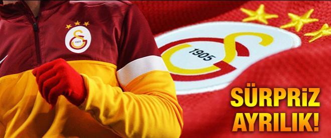 Galatasaray'da beklenmedik ayrılık!