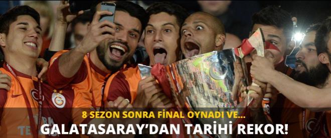 Galatasaray tarihi rekoru kırdı!