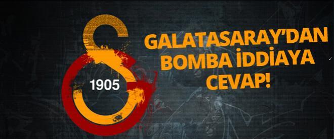 Galatasaray'dan bomba iddiaya cevap!