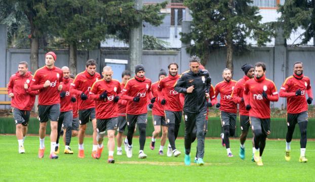 Galatasarayda Elazığspor maçı hazırlıkları