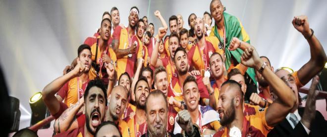 Galatasaray, şampiyonluğu kutluyor