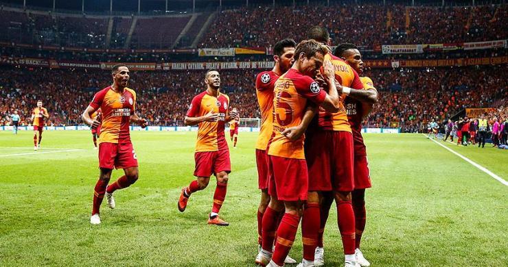 Galatasaray, Şampiyonlar Ligi'ne galibiyetle başladı
