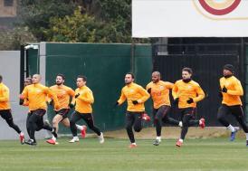 Galatasaray'da Kayserispor maçı hazırlıkları başladı