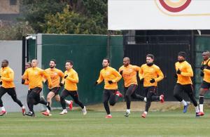 Galatasaray'da Fenerbahçe derbisi hazırlıkları başladı