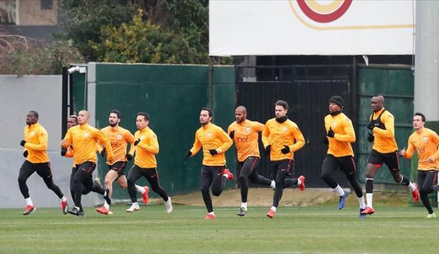 Galatasarayda Kayserispor maçı hazırlıkları başladı