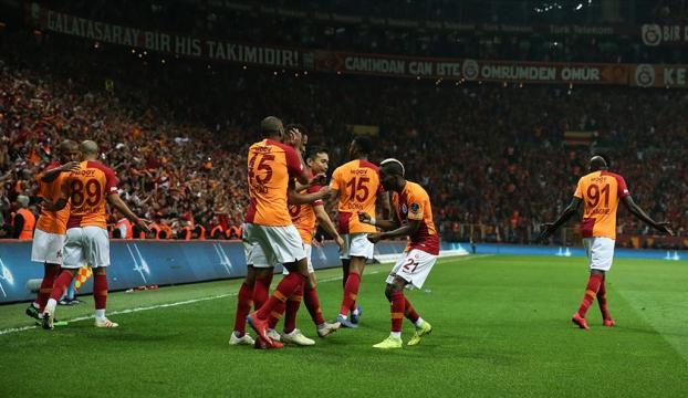 Galatasaray yenilmezlik rekorunu egale etti
