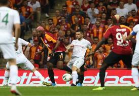 Galatasaray Konya'yı geçemedi