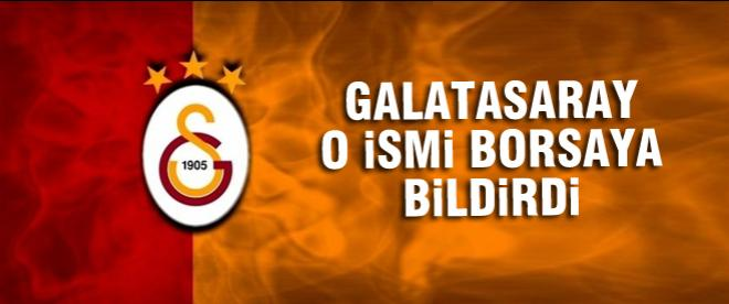 Galatasaray Alex Telles'i borsaya bildirdi