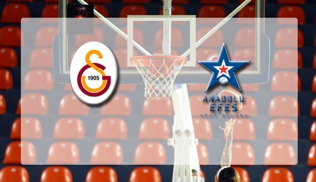 Galatasaray Odeabankın konuğu Anadolu Efes