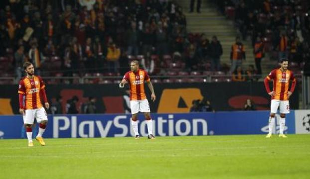 Galatasaray-Arsenal maçında müthiş gol