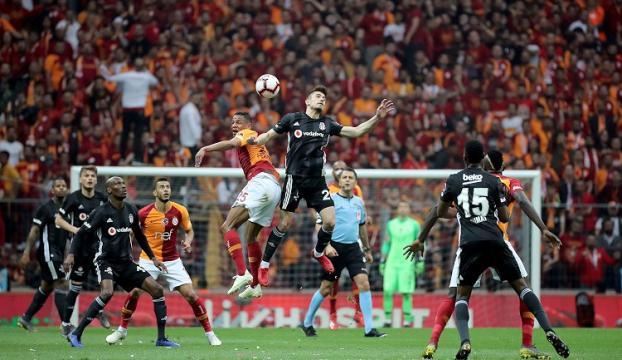 Galatasaray Beşiktaşı 2 golle geçti