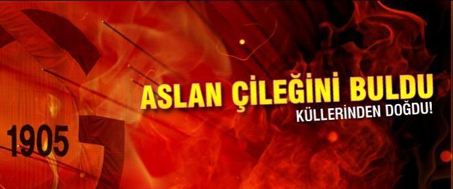 Aslan'ın çileği Sneijder