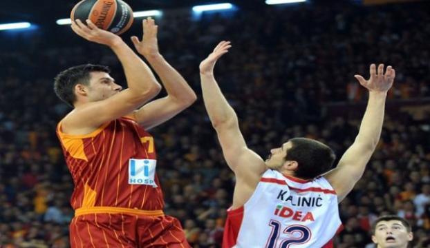 Galatasaray Euroleaguede kazandı