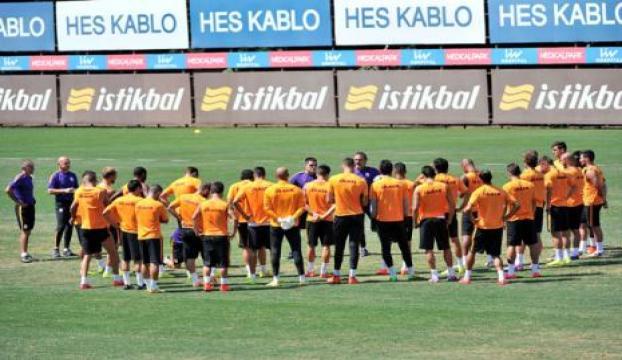 Galatasaray, Süper Kupa maçı için İzmire gitti