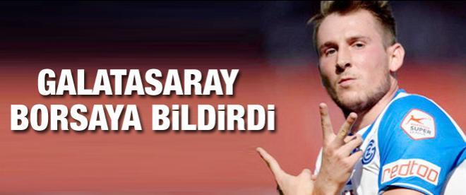 Galatasaray genç yıldızı borsaya bildirdi