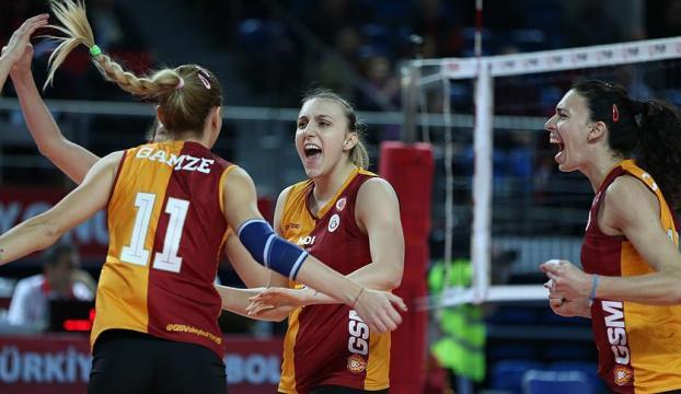 Galatasaray Kadın Voleybol Takımı avantaj arayacak