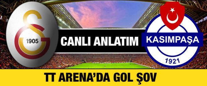 Galatasaray - Kasımpaşa maçı canlı anlatım