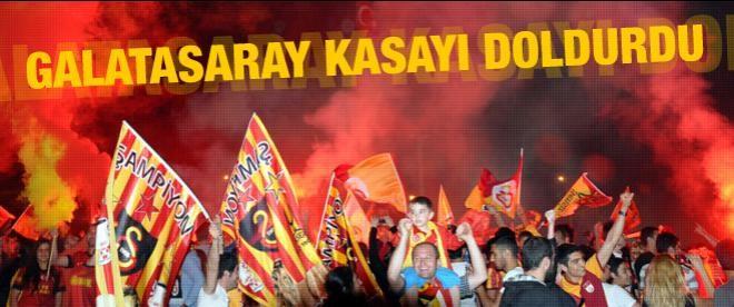 Galatasaray kasayı dolduruyor