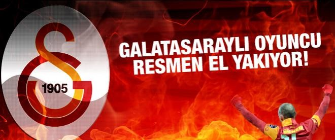 Galatasaraylı oyuncu el yakıyor!