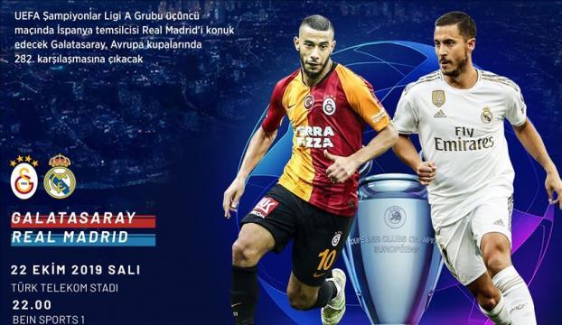 Galatasaray, Avrupada 282. kez sahne alıyor