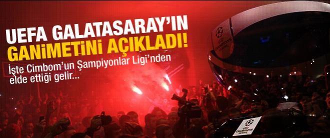 UEFA Galatasaray'ın kazandığı parayı açıkladı