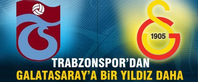 Galatasaray'a Trabzonspor'dan bir yıldız daha