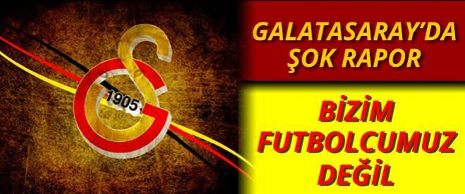 Galatasaray'da acı rapor