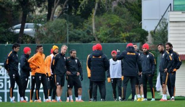 Galatasarayda Anderlecht maçı hazırlıkları