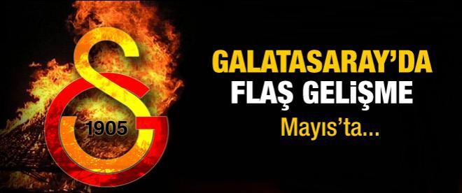 Galatasaray'da flaş gelişme, seçime gidiyor!