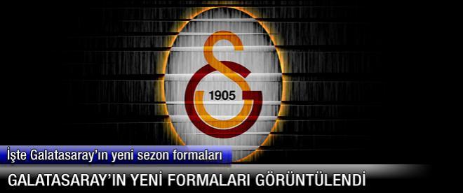 Galatasaray'ın yeni formaları
