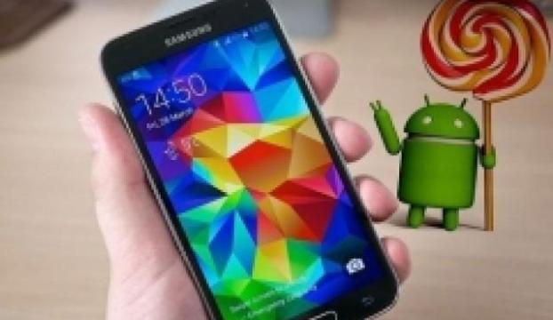 Galaxy S5 için Android 5.0 Lolipop güncellemesi
