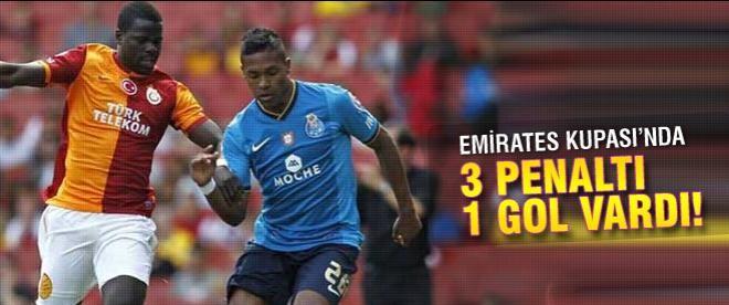 Galatasaray Porto'yu yendi
